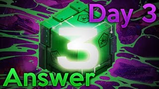 The GAME Day #3 - ANSWER!!! | Tanki Online