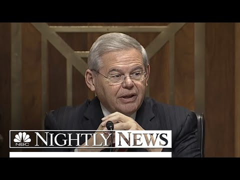 Sen. Robert Menendez Indicted On Corruption Charges | NBC Nightly News