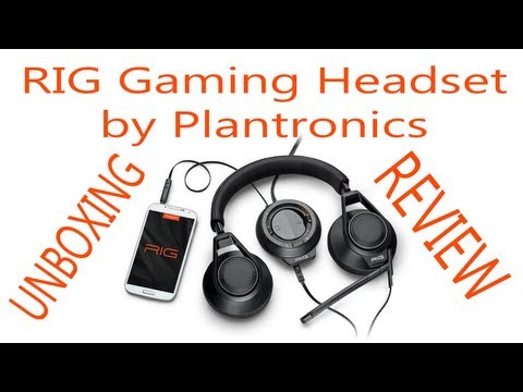 RIG Gaming Headset by Plantronics - Unboxing / Review