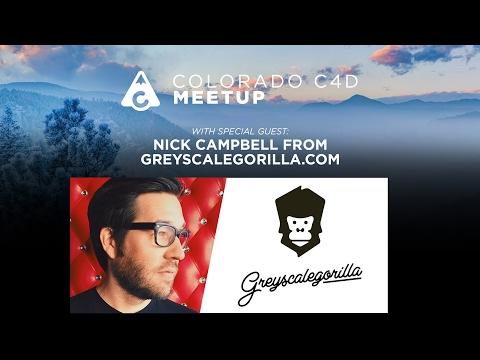 GreyscaleGorilla LIVE Q&A at Colorado C4D