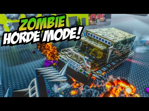 LEGO ZOMBIE HORDE MODE! Fun Lego User Creations! - Brick Rigs Gameplay Roleplay (Kid Friendly)