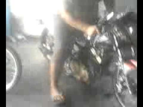Knalpot Creampie Ori For Satria Fu 150 (drag Style) Hd video