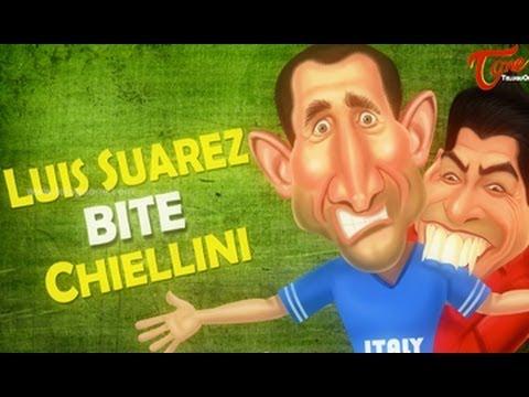 Luis Suarez Bites Chiellini || FIFA World Cup 2014
