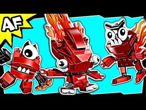 Lego Mixels INFERNITES Series 1: Flain. Vulk & Zorch 41500 41501 41502 Animated Building Review