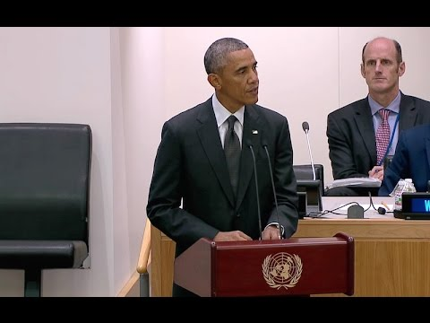 President Obama Speaks at the U.N. Meeting on Ebola