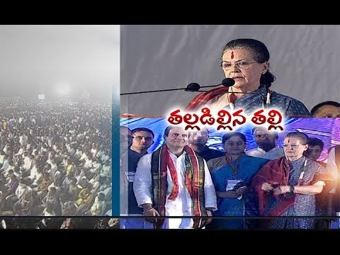 Sonia Gandhi Gives Assurance to Special Status for AP | in Telangana Election Rally