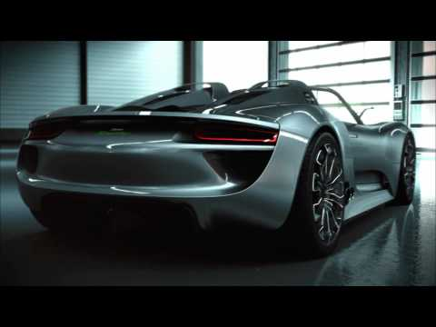 Meet the Concept Study Porsche 918 Spyder. Its world premiere in Geneva will