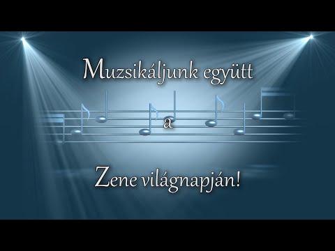 Muzsikáljunk együtt a Zene Világnapján 2020. október 1