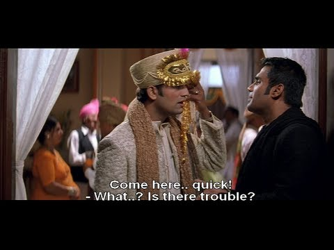 Funny scene - Kareena Kapoor is getting married (Hulchul)