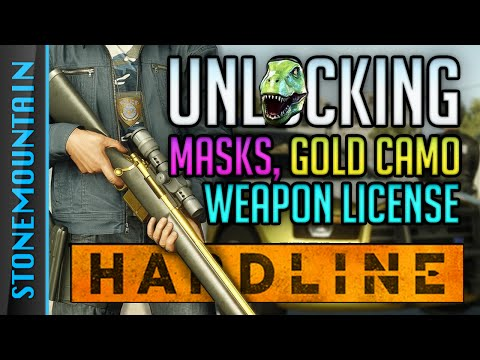 Battlefield Hardline How to Unlock Masks, Weapons License, & Gold Camo - Block Blood Money Gameplay