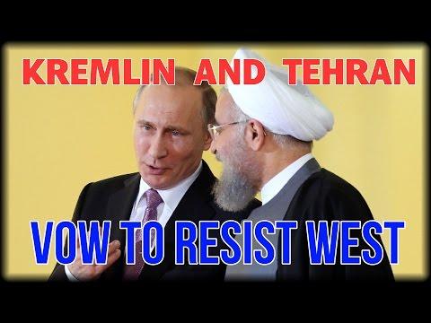KREMLIN AND TEHRAN VOW TO RESIST WEST COERCION TO DUMP ASSAD