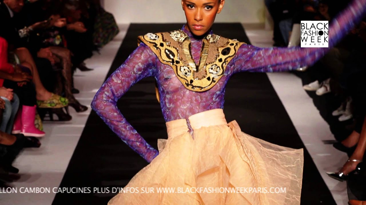 Adama Paris Black Fashion Week Black Fashion Week Paris 2013