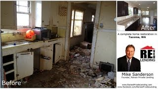 Complete home rehab! Disaster area turned to Beautiful Home! (Before & After)