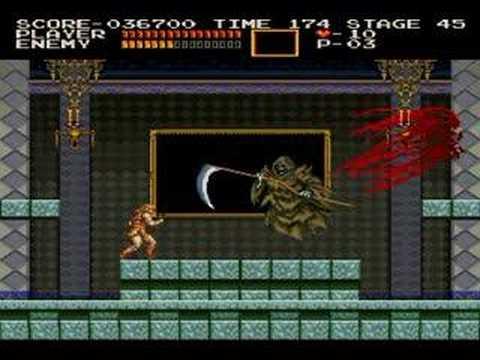 X68000版 悪魔城ドラキュラ VS死神