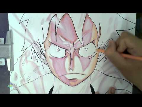 Gear Drawings ▶ Drawing Luffy Gear Second
