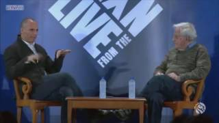 Chomsky and Varoufakis Discuss Modern Economic Theory and Education
