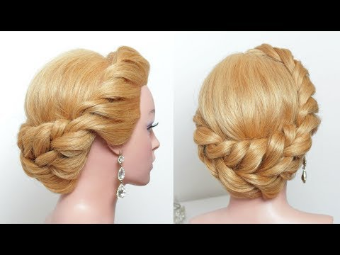 Easy Updo. Hairstyle For Long Hair Tutorial Step By Step