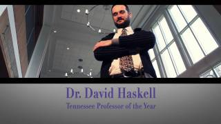 Dr. David Haskell: Sewanee's Tennessee Professor of the Year