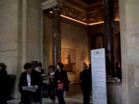 Winged Victory Hall at the Louvre Video