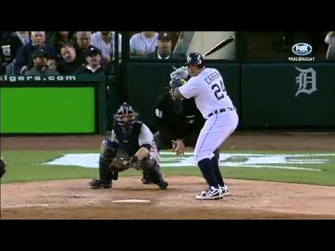 Longest Home Run in Comerica Park History - Miguel Cabrera - 466 ft