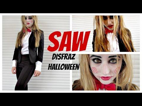SAW - Disfraz Casero Para Halloween Sencillo y Rapido - DIY