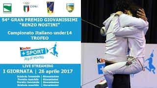 54° GPG - Trofeo Kinder +Sport 2017 - I GIORNATA - Live Streaming