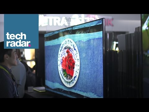 LG UF9400 Quantum Dot Television: CES 2015 First Look