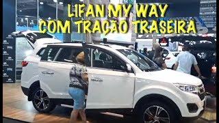 Carros da Lifan no Salão do Automóvel 2018