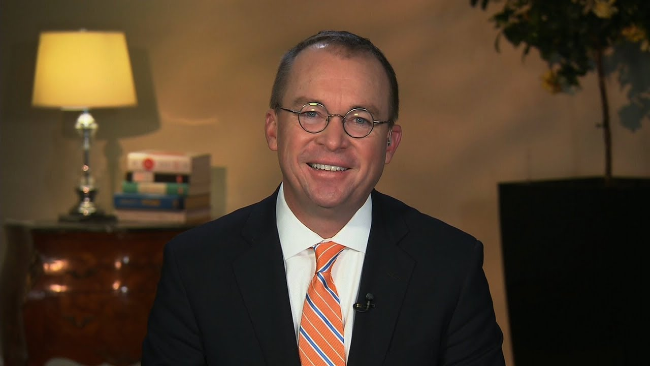 Mick Mulvaney defends Trump's Puerto Rico response, tax plan