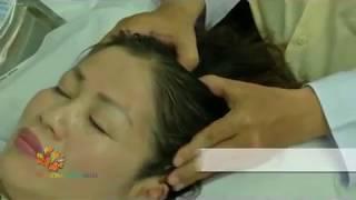 Cách bấm huyệt trị đau đầu