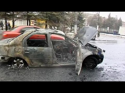 Disturbing content: Reports of up to 13 dead in Donetsk blast, Ukraine
