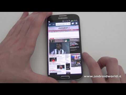 Samsung Galaxy S4. anteprima completa in italiano by AndroidWorld.it