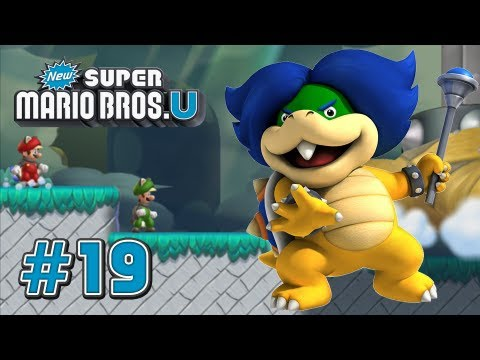 New Super Mario Bros U - Part 19- Peach's Castle - 100%