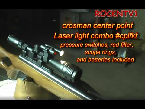 Centerpoint laser flashlight kit Benjamin trail np xl1100 .22 air rifle