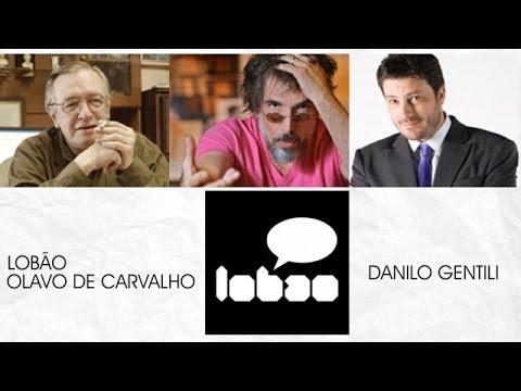 Lob�o e Olavo recebem Danilo Gentili ao vivo: censura, ensino e politica
