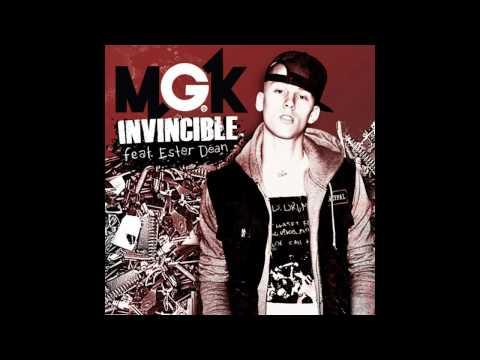 Machine Gun Kelly- invincible Ft. Ester Dean (lyrics) video