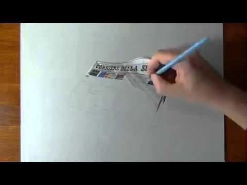 Как рисуют 3D рисунки