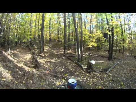 Pt 2.. GoPro HD Wide Helmet Cam Suzuki LT230 Quad Runner Sport Camera Trail Riding