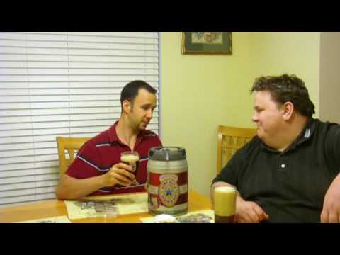 NewCastle Beer in Draughtkeg mini keg review - BeerTender Compatible