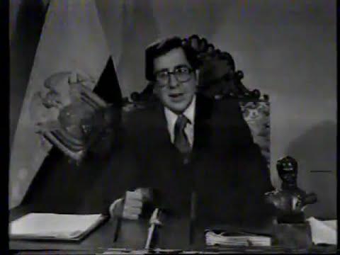 PROYECTO ALRAY: Jaime Roldos Aguilera 1979 , cadena nacional