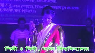 মধু হই হই বিষ খাওয়াইলী গাইলেন খুদে শিল্পী বিথী