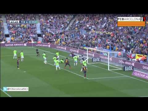T13/14 J28 Liga BBVA: FC Barcelona 7-0 CA Osasuna (RAC1)