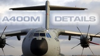 Airbus Military A400M Details & Take Off