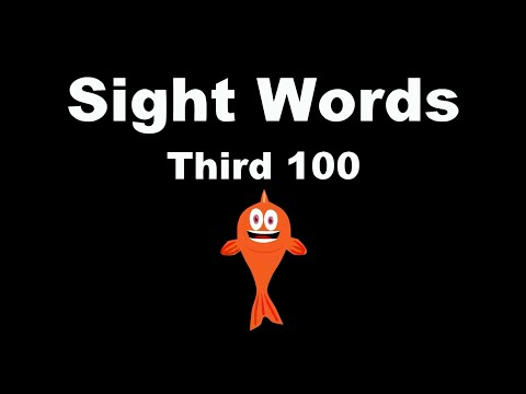 Sight Words: Third 100 - Fry Instant Words - The Kids' Picture Show (Fun & Educational)