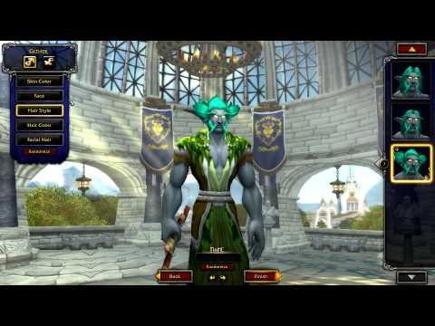 Warlords of Draenor Beta: All New Character Models (Trolls, Human Male, Nightelf Male)
