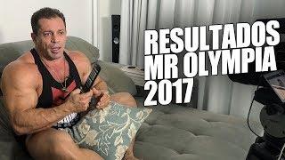 Fernando Sardinha - Resultados do Mr Olympia 2017