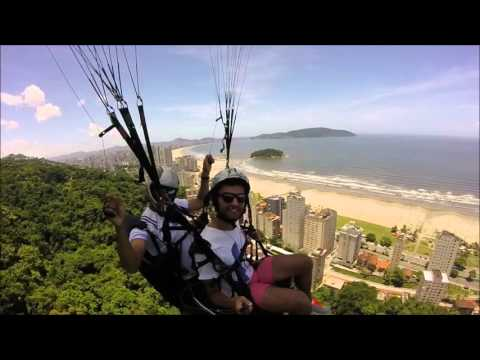 [Lucas Voando de Parapente] Video
