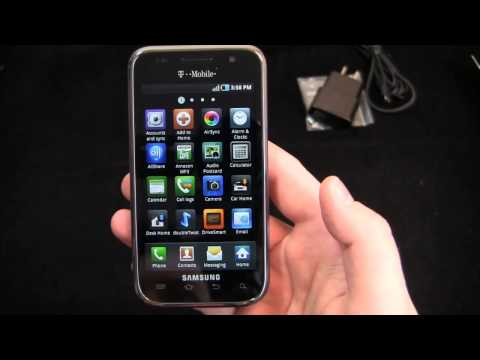 Samsung Galaxy S 4G Unboxing