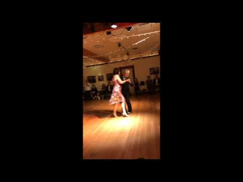 Jose Garofalo and Elizabeth Wartluft dance Azabache