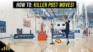 How to: DEADLY 1 on 1 Basketball Moves to KILL Defenders in the Post!